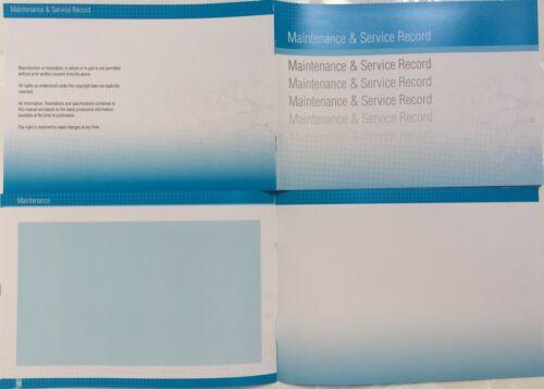 Peugeot Generic Replacement Car Service History Book New Handbook Blank B