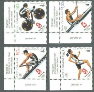 Nouvelle-zélande-jeux Olympiques De Beijing Neuf Sans Charnière 2008 Set Sports --g Olympic Games Mnh 2008 Set Sports-fr-fr Afficher Le Titre D'origine