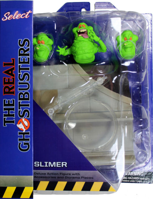 The Real Ghostbusters ~ SLIMER ACTION FIGURE ~ DST Diamond Select