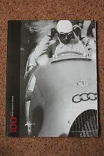 AUDI MAGAZINE 100 ANNI Estate 2009 CATALOGO BROCHURE condizioni eccellenti LOT2