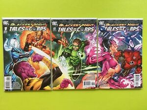 Blackest-Night-Tales-of-the-Corps-Mini-Series-1-2-3-DC-NM-9-4