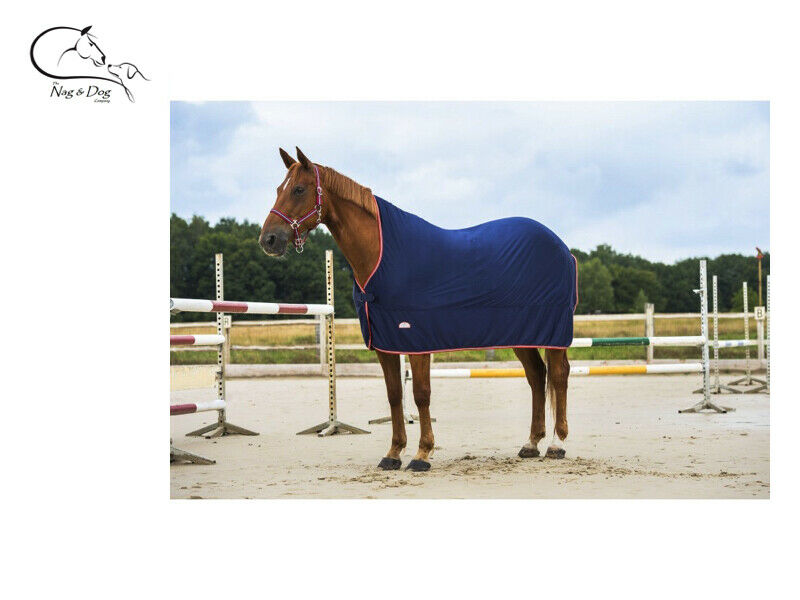 EKKIA Horse Show Viaggio Coperta in Pile Collo Alto foglio stabile Sudore COOLER GRATIS P&P
