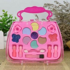 Makeup-fuer-Kinder-Kosmetik-Maedchen-Geschenk-Lidschatten-Lipgloss-Rouge