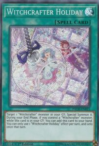 MP20-EN226 Witchcrafter Holiday 1st Edition Ultra Rare YuGiOh Trading Card Game