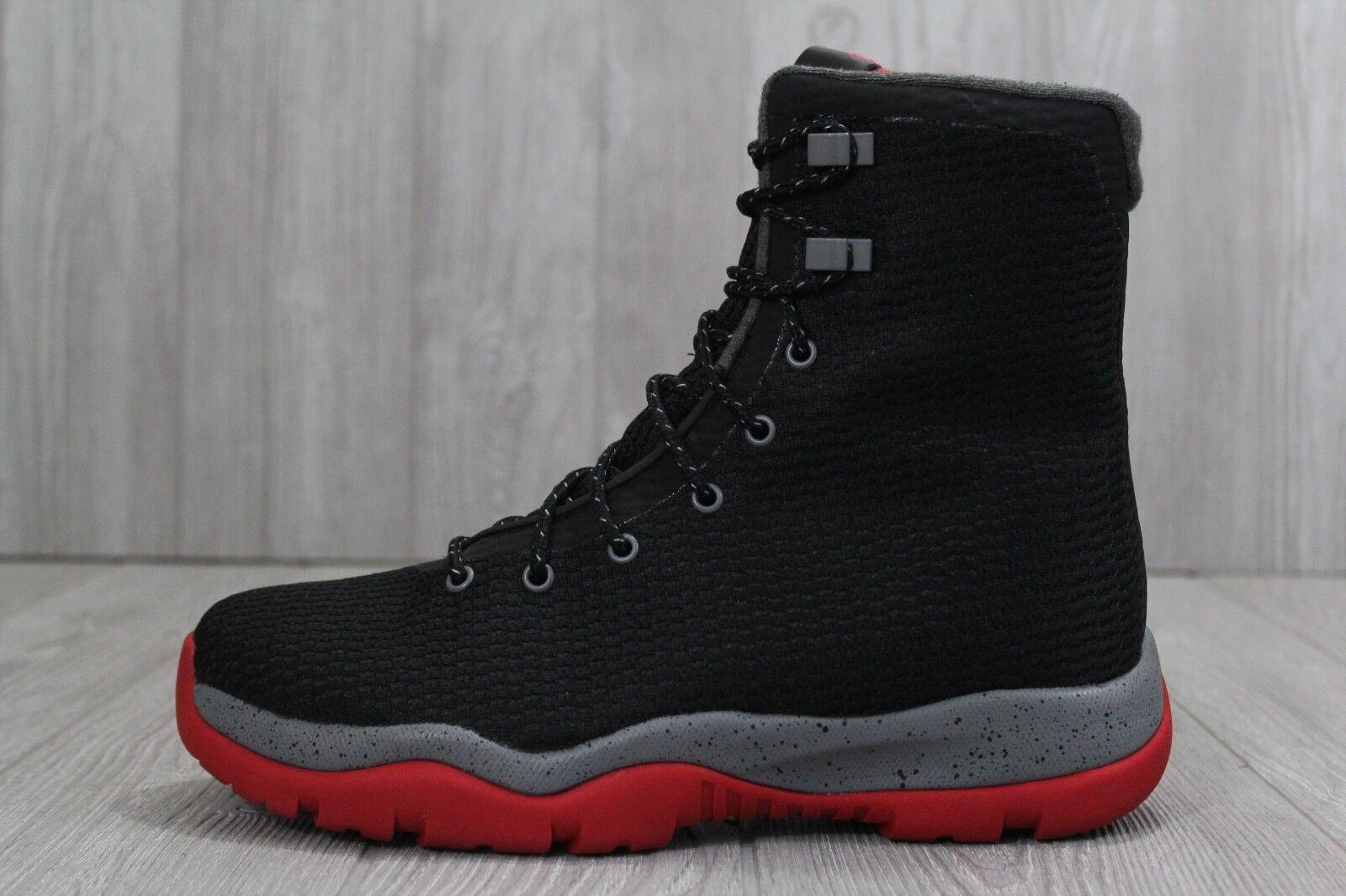 promo code 1200a efc1b 32 32 32 Nuove Nike Air Jordan Futuro Stivali Sneakerboots Allevati Nero  854554 001 Uomo 8 164352