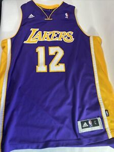 Details about Los Angeles Lakers Purple Jersey #12 Dwight Howard Adidas Men's Size Large
