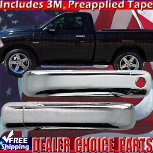 For 2002-2008 RAM 1500 2003-2009 2500 Chrome 4 Door Handle COVERS 2KH+Tailgate