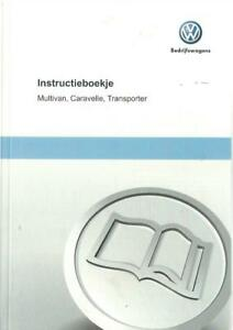 VW-TRANSPORTER-CARAVELLE-MULTIVAN-T5-2010-Instructieboekje-Betriebsanleitung-BA