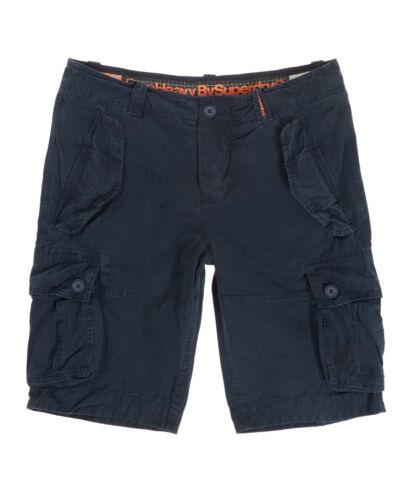 NUOVA linea uomo Superdry Core pantaloni corti con tasconi pesanti AVIAZIONE