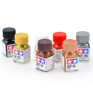 Tamiya-Color-80301-80385-XF-1-to-XF-85-Flat-Enamel-Paint-10ml-NEW