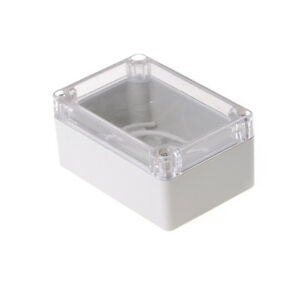 100x68x50mm-Waterproof-Cover-Clear-Electronic-Project-Box-Enclosure-Case-NMCAXI