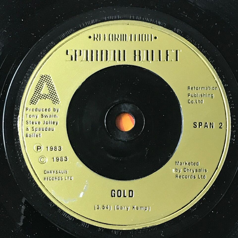 Single, Spandau Ballet, Gold/Gold(Instrumental)