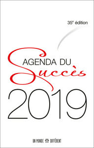 AGENDA DU SUCCES 2019 - SPIRALES - FORMAT POCHE 9 X 14 CM
