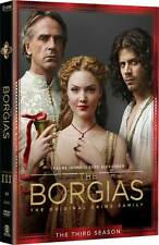 The Borgias . The Final Season 3 . Jeremy Irons . 3 DVD . NEU