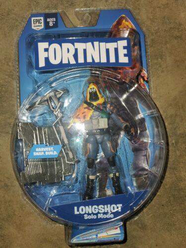 "Fortnite LONGSHOT Solo Mode Action Figure 4"" Jazwares Series 3 1D"