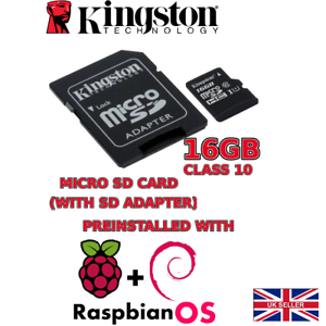 Details about 16GB *class10* MICRO SD CARD Pre Installed with Raspbian OS  for Raspberry Pi