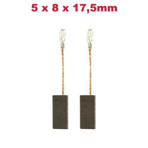 2x Schleifkohle Kohlebürste 5x8x17,5mm für Bosch GWS 14-125 CI GWS 14-125 CIE