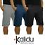 Bermuda-Uomo-Slim-Cotone-Pantalone-Corto-Shorts-Basic-Casual-Slim-Fit-Nero miniatura 1
