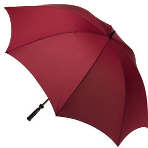 CLIFTON-Umbrella-Mens-Fairway-Large-Cover-Golf-Umbrella-Burgundy