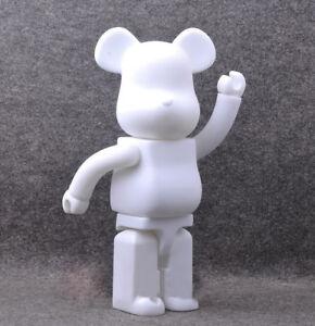 Bearbrick-400-DIY-Paint-Color-White-PVC-Action-Figure-Toy-28CM-Be-rbrick-TOY-G