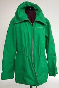 ZeroXposur-Evolution-Green-Shell-Jacket-Fancy-Collar-Full-Zip-Women-L-Mint