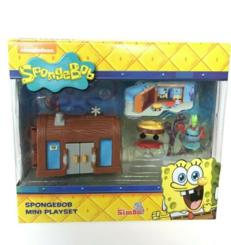 selten SpongeBob Mr Krabs The Krusty Krab mini playset 2015 by SIMBA OVP