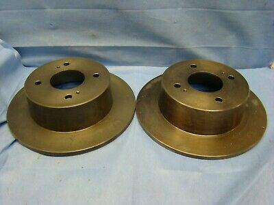 REAR Brake Rotor Pair of 2 Fits 79-81 Nissan 280ZX