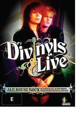 DIVINYLS live Jailhouse rock (PAL Format DVD Region 0)