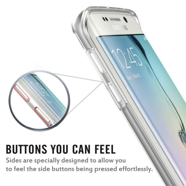 Samsung Galaxy S9 Case 360 Protection Clear Silicone front and back case cover