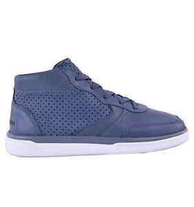 Dolce logo Gabbana perforate alte Blue Blue con Sneaker Sneakers 04634 SqOUAEn