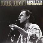 John Hiatt Paper Thin Double LP Vinyl 33rpm