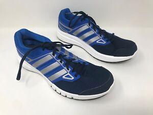 New! Men s Adidas Galactic Elite Blue Silver Black White SZ 9.5 ... 1cba3966662