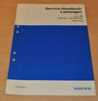 Volvo D7A D7B Schmier und Ölanlage  LKW Lastwagen Truck Werkstatthandbuch