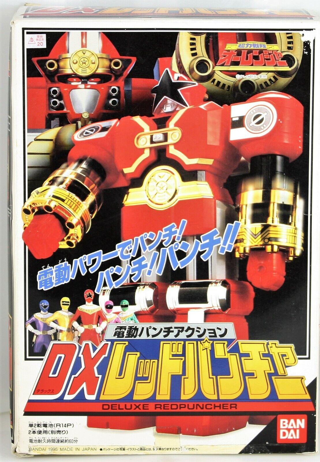 Energia Rangers  Zeo Ohranger DX Zeo Megazord rossoPuncher Beai Japan 1995 MMPR  negozio outlet