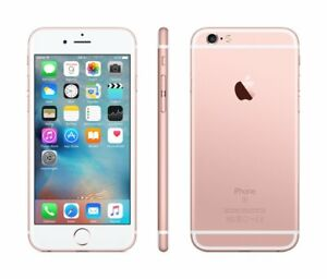 Apple Iphone 6S 32 GB Fotocamera da 12 Megapixel iOS 9, LTE Rosa Gold NUOVO