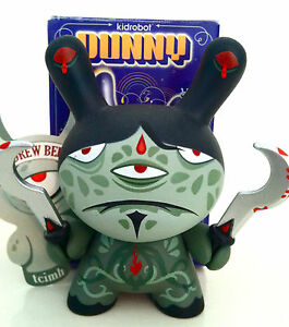 """DUNNY 3"""" 2009 SERIES ANDY BELL SERVANT OF KALI CHASE ?/?? KIDROBOT TOY VINYL"""