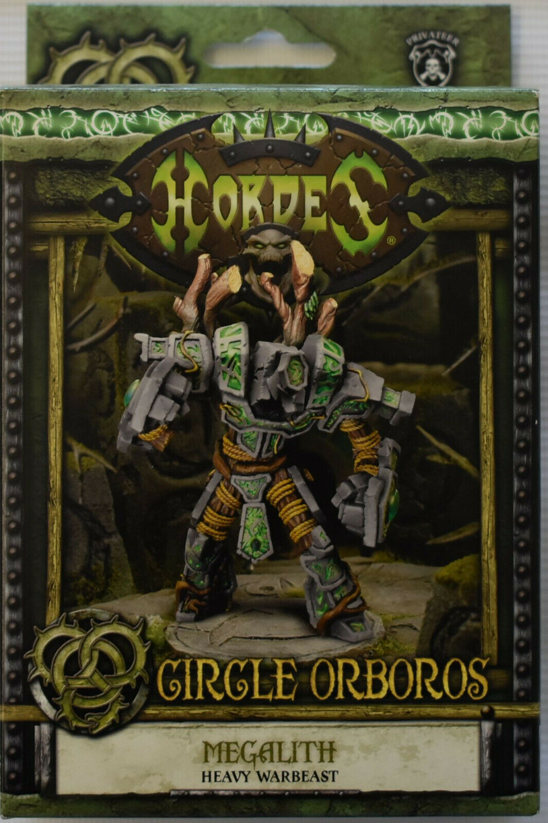 Hordes Circle Orbgolds Megalith Heavy Warbeast PIP 72097