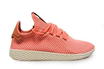 En el nombre Antorchas freno  Men's Adidas Pharrell Williams Tennis Hu - BY8715 - Pink Trainers | eBay