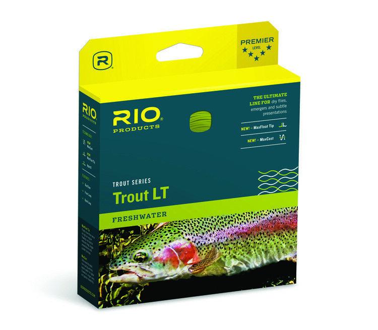 Rio Trout LT Fly Line Size WF1F Beige Sage U.S Free Shipping