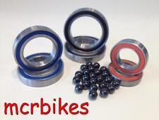 Ceramic Hybrid 2RS Bearing Cartridges Wheel Hub Pedals Bottom Bracket 608 - 6806