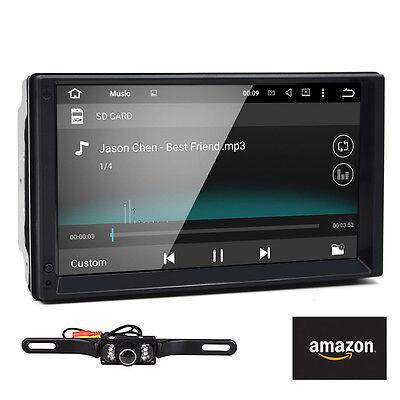 "Quad Core 2 DIN Radio 7"" Android 5.1 Car Stereo No DVD Player OBD2 DAB+"