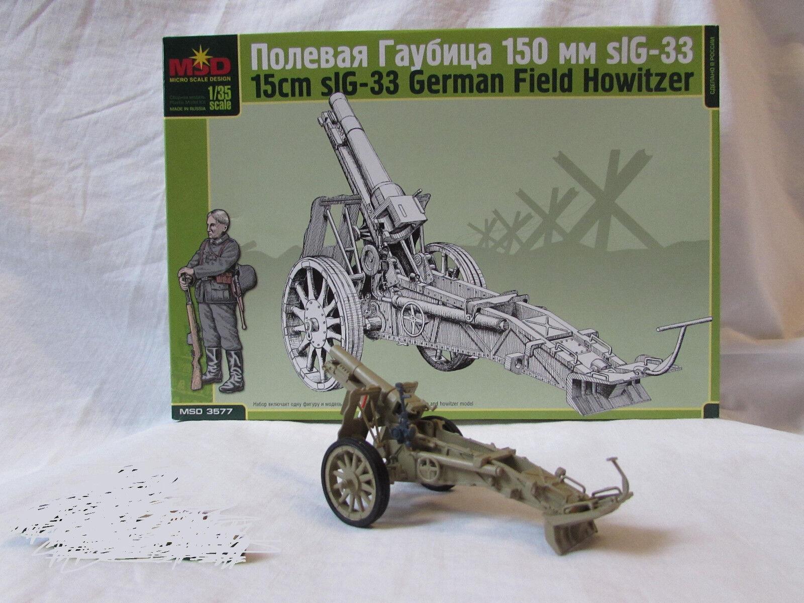 ARK MODELS® 35009 German sIG33 15cm Infantry Gun in 1:35