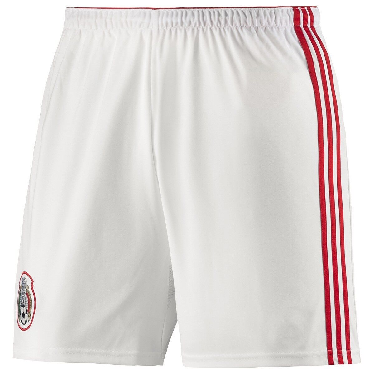 b53a1e6842 Adidas World Cup 2014 Home Soccer Shorts Brand New White Red Mexico ...