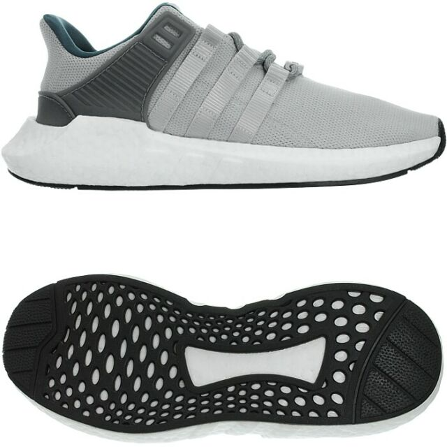 huge discount 66acf db296 Adidas EQT Support 93/17 grey men's low-top sneakers trainers caual shoes  NEW