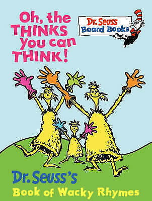 Oh, the Thinks You Can Think (Dr.Seuss Board Books)-ExLibrary