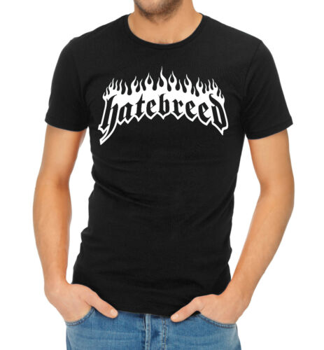 Hatebreed Flaming Title Logo T-Shirt