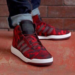 Image is loading Adidas-Originals-Veritas-Core-Mid-Men-039-s-