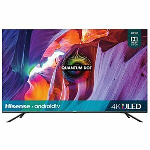 Hisense 65-Inch Class H8 Quantum Series Android 4K ULED Smart TV with Voice Remo