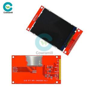 2-8-034-SPI-TFT-240x320-LCD-Serial-Port-Module-5V-3-3V-PCB-Adapter-Micro-SD-ILI9341