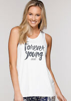 Womens Lorna Jane Activewear Forever Young Tank